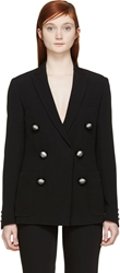 Christopher Kane Black Diamond Buttons Blazer