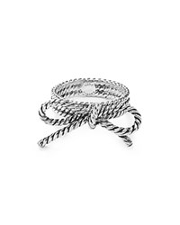 Marc Jacobs Bow Ring Antique Silver