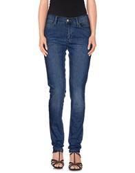 Monkee Genes Denim Denim Trousers Women Blue
