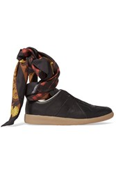 Maison Martin Margiela Leather Sneakers Black
