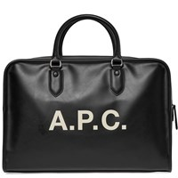 A.P.C. Paul Logo Bag Black