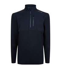 Porsche Design Nylon Panel Sweatshirt Male Navy