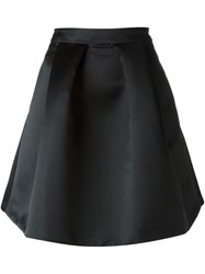 Love Moschino Box Pleat Skirt Black