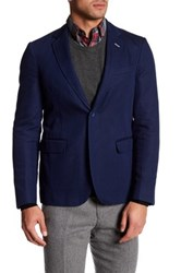 Gant Long Sleeve Blazer Blue
