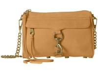 Rebecca Minkoff Mini Mac Almond 2 Cross Body Handbags Beige