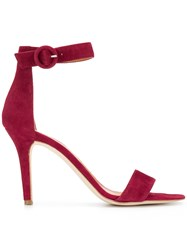 Via Roma 15 Ankle Strap Sandals Red