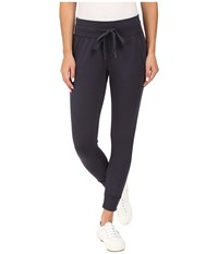 Mod O Doc Cotton Modal Spandex French Terry Cropped Sweatpants Gibraltar Women's Casual Pants Gray