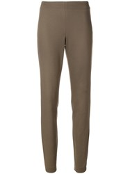 Fabiana Filippi Skinny Trousers Green