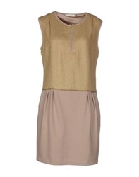 See U Soon Dresses Short Dresses Women Beige