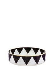 Vista Alegre Carrara Serving Bowl White Black