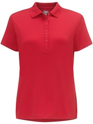 Callaway Chev Solid Polo Red