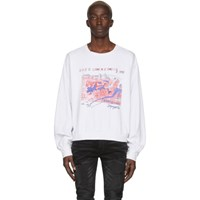 Enfants Riches Deprimes White Shes Like Heroin Long Sleeve T Shirt