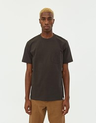 Norse Projects S S Johannes Pocket Tee In Beech Green