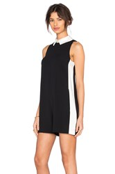 Rachel Zoe Josettie Romper Black And White