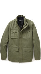 Vince Military 3 In 1 Waxed Cotton Jacket