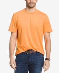 G.H. Bass And Co. Men's Explorer Performance T Shirt Orange Heather