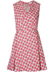 Suno Flared Floral Dress