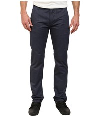 Dockers Alpha Khaki Pant Officer Blue Heather Men's Casual Pants Navy