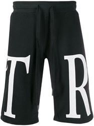 True Religion Monogram Logo Track Shorts 60