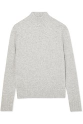 J.Crew Isabel Knitted Turtleneck Sweater Gray