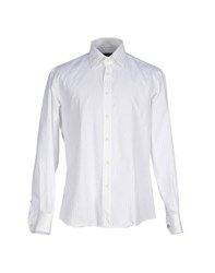 Gai Mattiolo Couture Shirts Shirts Men White