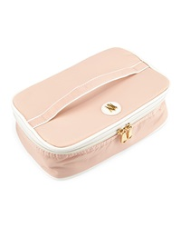 Neiman Marcus Nylon Travel Toiletry Case Blush