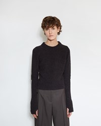 Christophe Lemaire Short Sweater Midnight