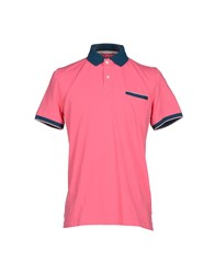 Heritage Topwear Polo Shirts Men Azure