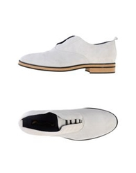 Opening Ceremony Lace Up Shoes Light Grey