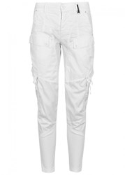High Bravery White Panelled Trousers