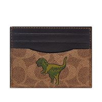 Coach Signature Rexy Card Holder Brown