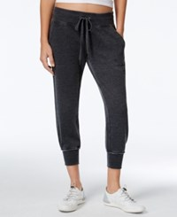 Calvin Klein Performance Soft Cropped Sweatpants Slate Heather