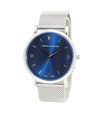 Larsson And Jennings Lugano 38Mm Stainless Steel Watch Silver