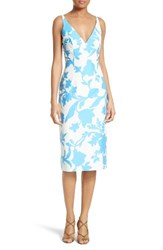 Milly Women's Liz Floral Jacquard Sheath Dress