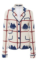 Tory Burch Sail Blazer White