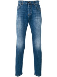 Entre Amis Slim Fit Jeans Men Cotton Spandex Elastane 33 Blue
