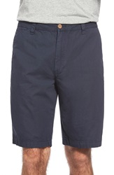 Tailor Vintage Canvas Walking Shorts Navy