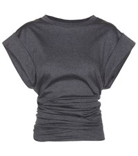 Isabel Marant Lowell Cotton Top Grey