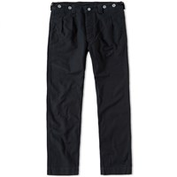 Nigel Cabourn X Lybro Pleated Chino Black