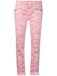 Zadig And Voltaire Classic Skinny Jeans Pink