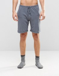 Esprit Lounge Shorts In Regular Fit Grey