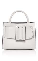 Boyy White Small Bobby Crossbody