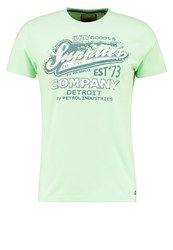 Petrol Industries Print Tshirt Green Bay