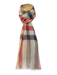 Barbour Duncan Tattersall Scarf Stone
