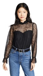 Cupcakes And Cashmere Ambition Blouse Black