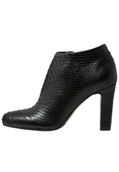 Eden High Heeled Ankle Boots Noir Black
