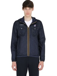 Hydrogen K Way Avvocato Reversible Cotton Jacket