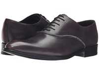 Messico Jonas Burnished Grey Leather Shoes Brown