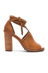 Frye Suzie Pickstitch Heel Brown