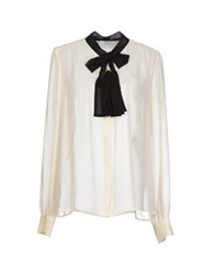 Axara Paris Shirts Ivory